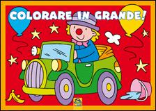 Colorare in Grande! - Rosso  Autori Vari   Macro Junior