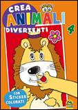 Crea Animali Divertenti 4  Autori Vari   Macro Junior
