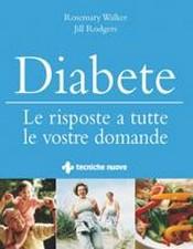 Diabete  Rosemary Walker Jill Rodgers  Tecniche Nuove