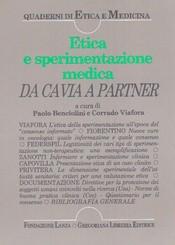 Etica e sperimentazione medica  Paolo Benciolini Corrado Viafora  Fondazione Lanza