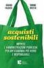 Acquisti sostenibili  Silvano Falocco Simone Ricotta  Edizioni Ambiente