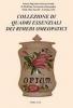 Collezione di quadri essenziali dei rimedi Omeopatici  Scuola Superiore Internazionale di Medicina Veterinaria Omeopatica   H.M.S.