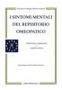 I sintomi mentali del repertorio omeopatico  Proceso Ortega Renzo Galassi  Salus Infirmorum