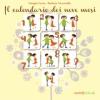 Il calendario dei nove mesi  Giorgia Cozza   Il Leone Verde