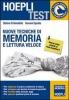 Nuove tecniche di memoria e lettura veloce  Stefano Di Benedetto Giovanni Sposito  Hoepli
