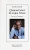 Quarant'anni di acqua fresca  Osvaldo Sponzilli   Edizioni Mediterranee