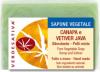 Sapone Vegetale Canapa e Vetiver Java     Verdesativa