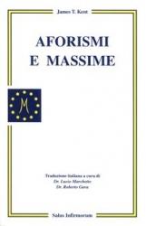 Aforismi e Massime (Copertina rovinata)  James Tyler Kent   Salus Infirmorum