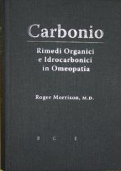 Carbonio  Roger Morrison   Bruno Galeazzi Editore