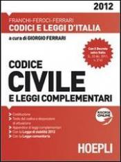 Codice Civile (2012)  Giorgio Ferrari   Hoepli
