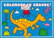 Colorare in Grande! - Azzurro  Autori Vari   Macro Junior