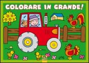 Colorare in Grande! - Verde  Autori Vari   Macro Junior