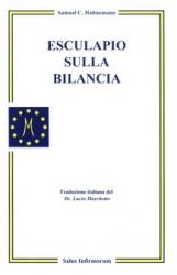Esculapio sulla Bilancia  Samuel Hahnemann   Salus Infirmorum