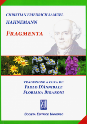 Fragmenta  Samuel Hahnemann   Società Editrice Universo