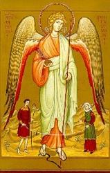 Icona di San Raffaele  P. Zuddas   Salus Infirmorum