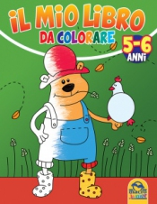 Il Mio Libro da Colorare - 5/6 Anni  Autori Vari   Macro Junior