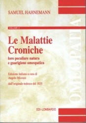 Le Malattie Croniche - vol.2  Samuel Hahnemann   Edi-Lombardo