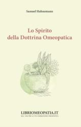 Lo Spirito della Dottrina Omeopatica  Samuel Hahnemann   Salus Infirmorum