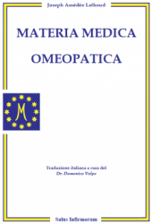 Materia Medica Omeopatica (Copertina rovinata)  Joseph Amédée Lathoud   Salus Infirmorum