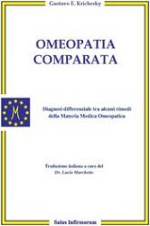 Omeopatia Comparata (Copertina rovinata)  Gustavo Ezequiel Krichesky   Salus Infirmorum