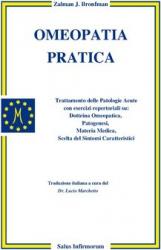Omeopatia Pratica (Copertina rovinata)  Zalman Bronfman   Salus Infirmorum