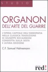 Organon dell'Arte del Guarire  Samuel Hahnemann   Red Edizioni