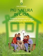 Più natura in casa  Sabine Gstottenmayer   Edizioni il Punto d'Incontro