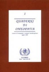 Quaderni di Omeopatia - 3° vol.  Pierre Schmidt   Cemon