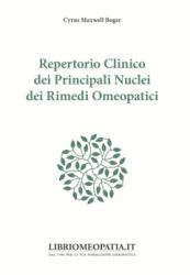 Repertorio Clinico dei Principali Nuclei dei Rimedi Omeopatici  Cyrus Maxwell Boger   Salus Infirmorum
