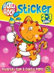 Ricrea Giochi Sticker 2-3 Anni  Autori Vari   Macro Junior