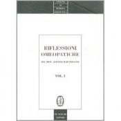 Riflessioni omeopatiche Vol. 1  Alfonso Masi Elizalde   De Ferrari Editore