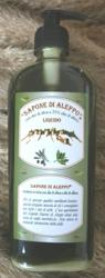Sapone di Aleppo con olio di oliva e 25% di alloro - Liquido     Carone snc