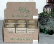 Sapone di Aleppo vegetale all'Olio di Oliva e Olio di Alloro al 16%     Carone snc