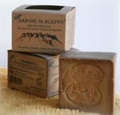 Sapone di Aleppo vegetale all'Olio di Oliva e Olio di Alloro al 32%     Carone snc