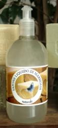 Sapone liquido di Marsiglia Naturale 1litro     Carone snc