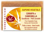 Sapone Vegetale Canapa e Camomilla     Verdesativa