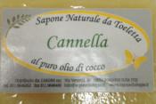 Sapone Vegetale Cannella     Carone snc