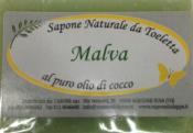 Sapone Vegetale Malva     Carone snc