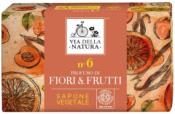 Sapone Vegetale n. 6 - Fiori & Frutti     Via della Natura