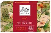 Sapone Vegetale n. 7 - Tè Rosso     Via della Natura