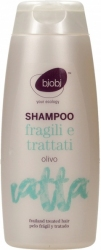 Shampoo Capelli Fragili e Trattati - Olivo     Bjobj