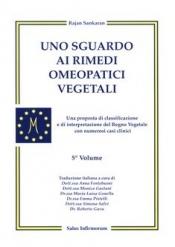 Uno sguardo ai rimedi omeopatici vegetali (Copertina rovinata)  Rajan Sankaran   Salus Infirmorum