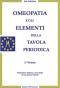 Omeopatia e gli Elementi della Tavola Periodica  Jan Scholten   Salus Infirmorum