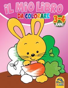 Il Mio Libro da Colorare - 3/4 Anni  Autori Vari   Macro Junior