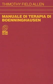 Manuale di terapia di Boenninghausen  Thimothy Field Allen   Nuova Ipsa Editore