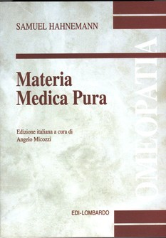 Materia Medica Pura  Samuel Hahnemann   Edi-Lombardo