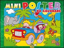 Mini Poster da Colorare - VERDE  Autori Vari   Macro Junior