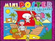 Mini Poster da Colorare - VIOLA  Autori Vari   Macro Junior