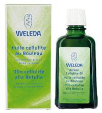 Olio cellulite alla Betulla     Weleda