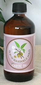Olio di mandorle dolci 250ml     Carone snc